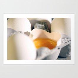 Egg Yolk  Art Print
