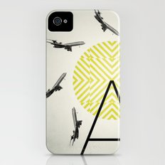 Flywheel (A is for Airplane) Slim Case iPhone (4, 4s)