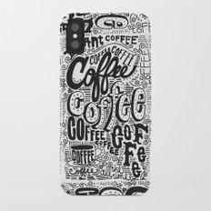 COFFEE COFFEE COFFEE! iPhone X Slim Case