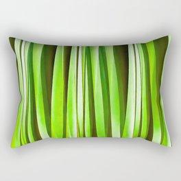 Tropical Green Riverweed Rectangular Pillow