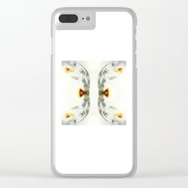 m´nude Clear iPhone Case