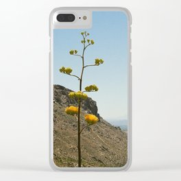 Flower on the Horizon Clear iPhone Case