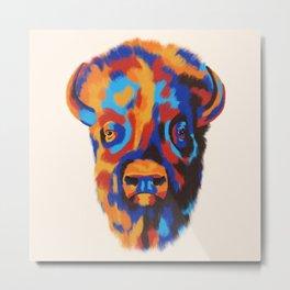 Buffalo Blue Metal Print