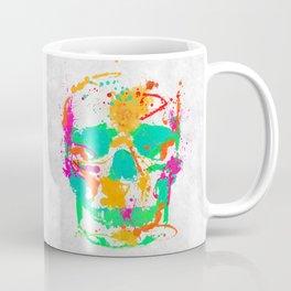 Dead Color Skull Coffee Mug
