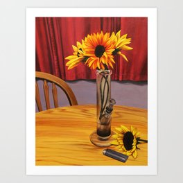 Waterpipe (Here in The State of Ohio) Art Print
