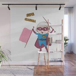Super Grandma 2 Wall Mural