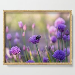 chives Serving Tray