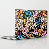 jungle Laptop & iPad Skins featuring jungle by Marica Zottino