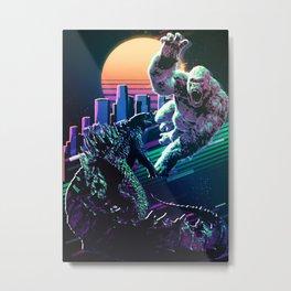 Monster fighters Metal Print