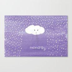 Sad Cloud Canvas Print