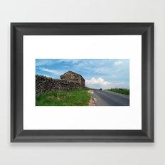 The Road to Keld Framed Art Print