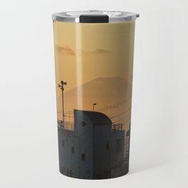Mt. Fuji Sunset Travel Mug