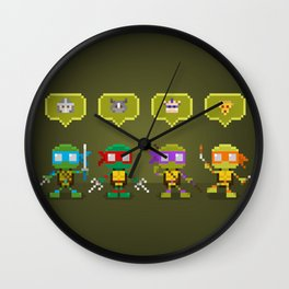 Challengers Wall Clock