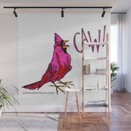 CAW! Wall Mural