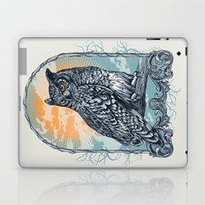 Twilight Owl Laptop & iPad Skin