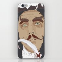 captain hook iPhone & iPod Skins featuring HOOK by Itxaso Beistegui Illustrations