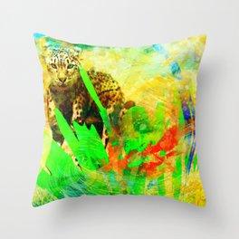 Manik Vibes Throw Pillow