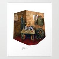 One Sixth Custom Figure 10 Art Print