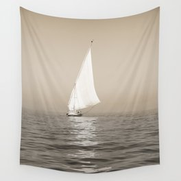 Ship on the Nile Wall Tapestry