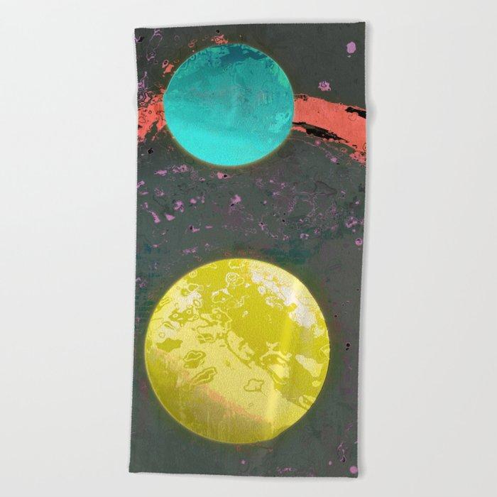 Dust 05 - Post Biological Universe Beach Towel