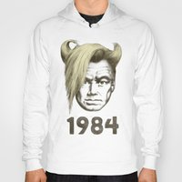 1984 Hoodies featuring 1984 by Eric Fan