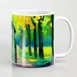 PAINTING TARDIS Coffee Mug