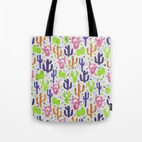 succulents Tote Bags featuring Succulents by 83 Oranges™