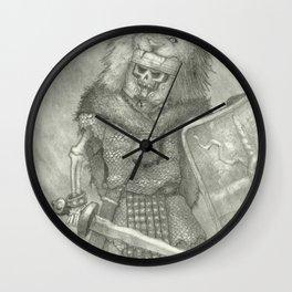 Zombie Roman Legionnaire Wall Clock