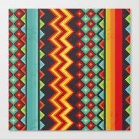 mexico Canvas Prints featuring Mexico by rusanovska