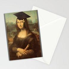 Mona Lisa Graduate Stationery Cards