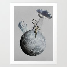 Private Moon Art Print