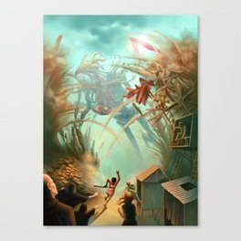Giants and Healers Canvas Print