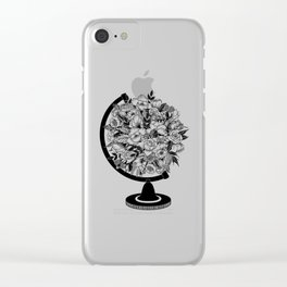 What a Wonderful World Clear iPhone Case