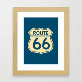 Route 66 Framed Art Print