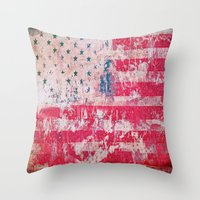 equality Throw Pillows featuring Equality by Fernando Vieira