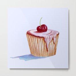 cherry cake Metal Print