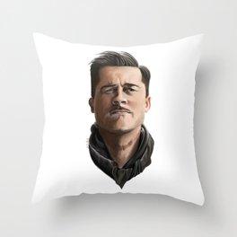 """Aldo Raine """"Inglourious Basterds"""" Throw Pillow"""
