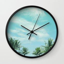 Lake Hands Wall Clock