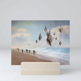 Floating Giants Mini Art Print