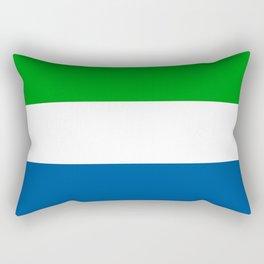 Flag of Sierra Leone Rectangular Pillow