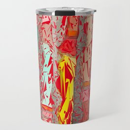 Red Shredder Travel Mug