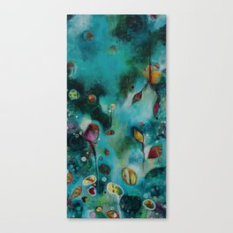 """""""The Garden"""" Original Painting by Emily Mitchell Canvas Print"""