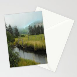 Mystery In Mist Stationery Cards