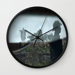Jesus Reflected. Phat Diem, Vietnam. Wall Clock