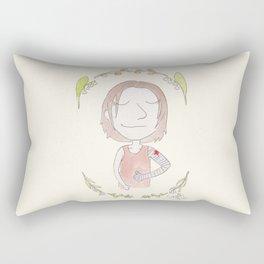 Everything's Going To Be Okay, Bucky Rectangular Pillow