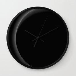 1577. Pluto at Night  Wall Clock