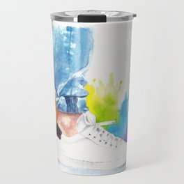 You can tell a man by his ankle: The Power Activated (Louis Tomlinson) Travel Mug