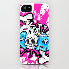 Skull Pops iPhone Case