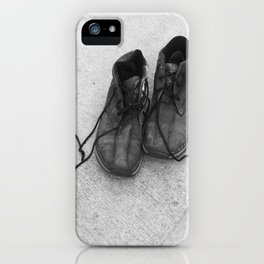 everyone has a story iPhone Case