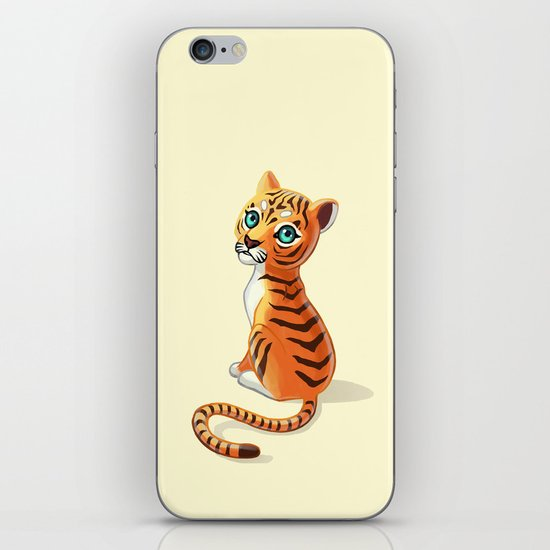Tiger Cub iPhone & iPod Skin